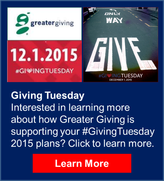 Giving Tuesday Promo