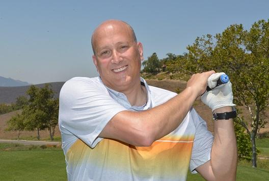David Gordon Golfing