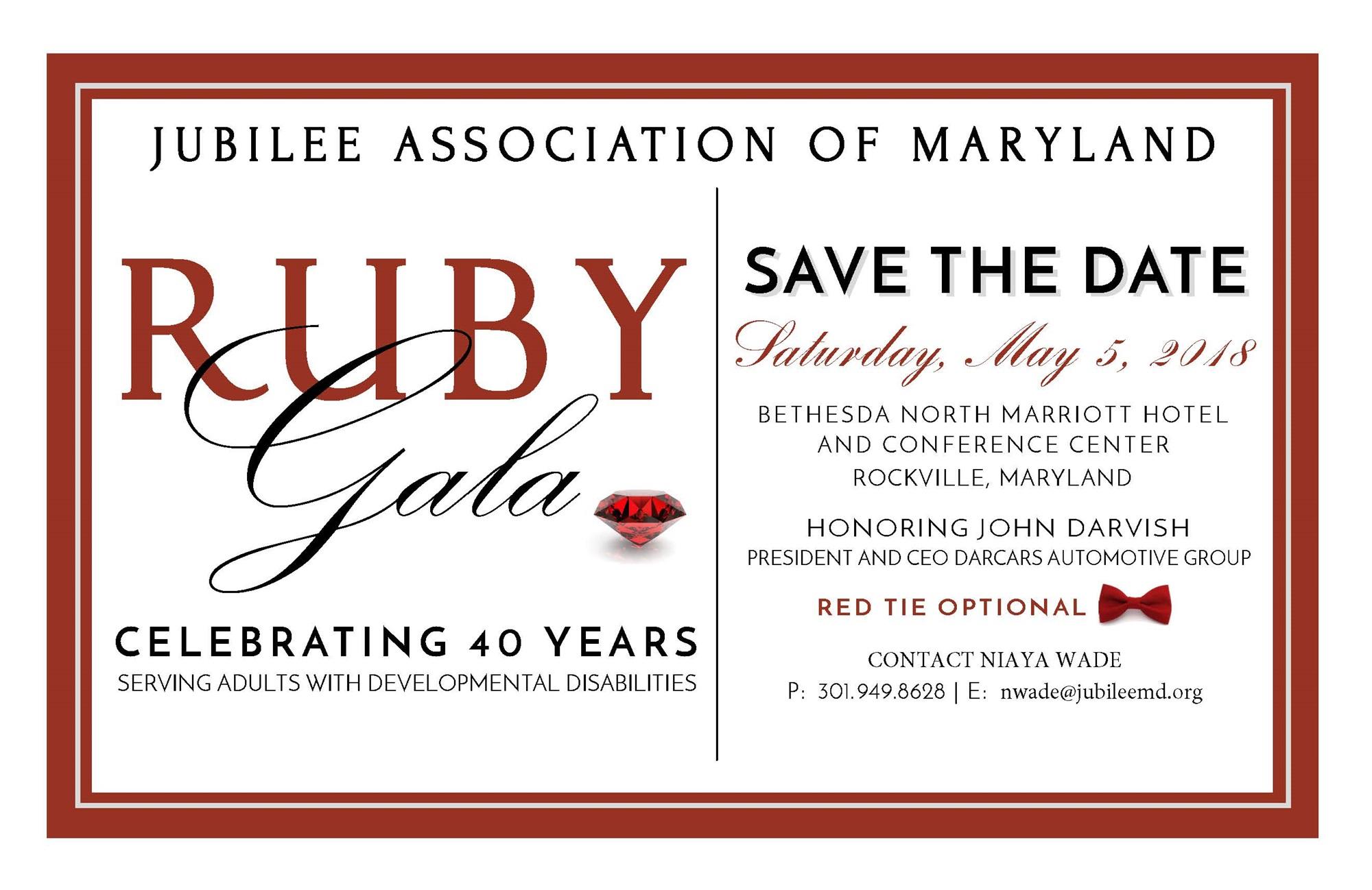 Event Logo Image Jubilee Ociation Of Maryland
