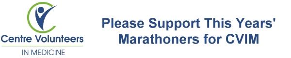CVIM Marathoners for Medicine