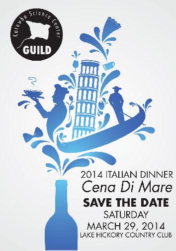 2014 Italian Dinner & Auction: Cena di Mar