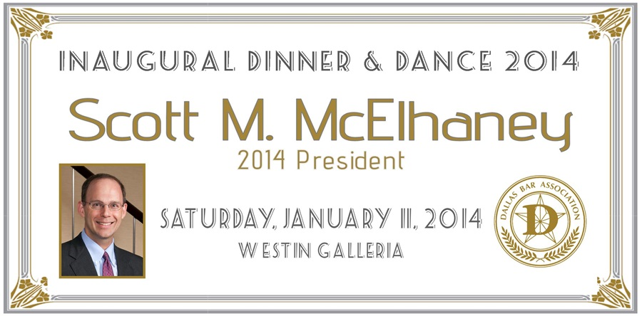 2014 DBA Inaugural Dinner and Dance