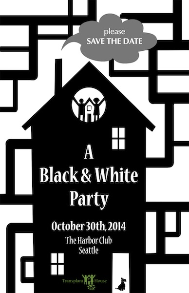 2014 Transplant House Black & White Party