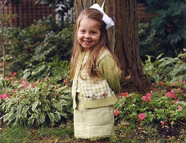 Olivia Tzagournis, Age 3