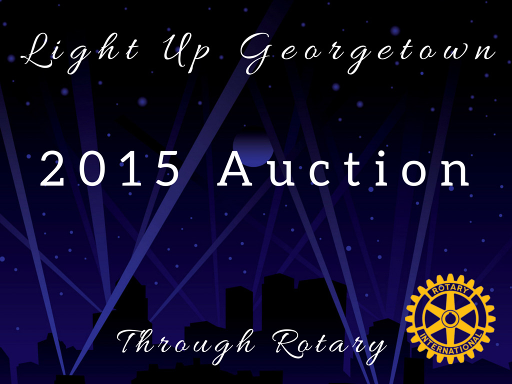 Light Up Georgetown with Rotary...