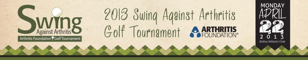 Dallas Swing Against Arthritis Golf Tournament event logo