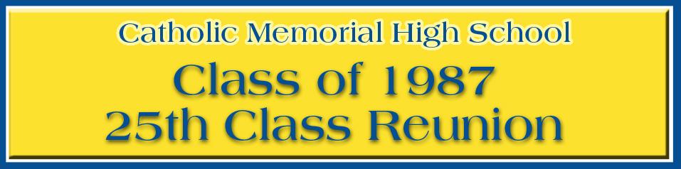Class of 1987 Reunion