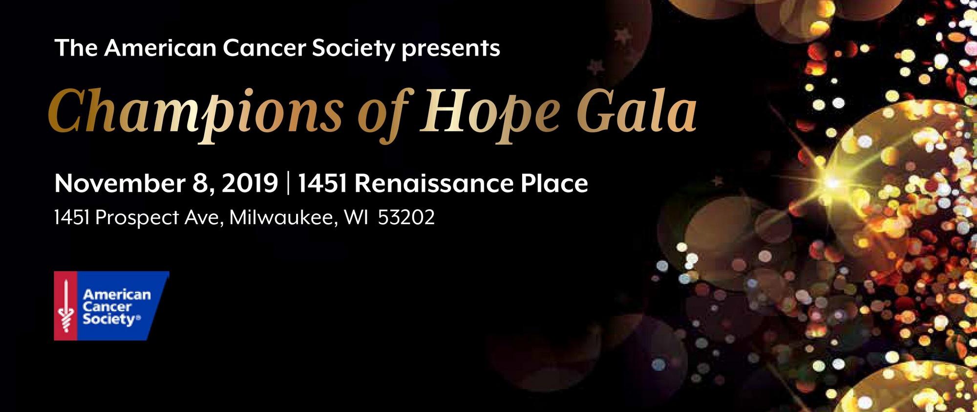 2019 Champions of Hope Gala