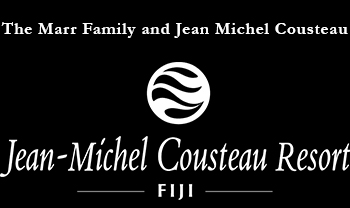 The Marr Family and Jean Michel Cousteau Fiji Resort